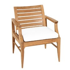 Limited Outdoor Dining Arm Chair Seat Cushion