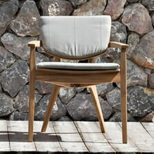 Diuna Stacking Dining Arm Chair with Cushion