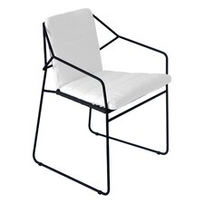 Sandur Stacking Dining Arm Chair with Cushion
