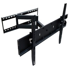 "Single Swivel/Articulating Arm Universal 32"" - 65"" Wall Mount LCD/Plasma/LED"