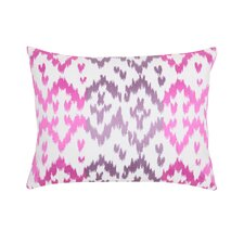 Easter Island Ikat Decorative Boudoir/Breakfast Pillow
