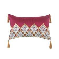 Amani Silk Dupioni Throw Pillow