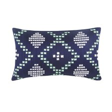 Harper Dillon Decorative Silk Dupioni Lumbar Pillow