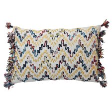 Mexico City Luminoso Lumbar Pillow