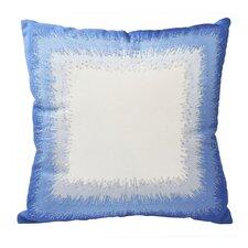 Mexico City Bordado Cotton Throw Pillow