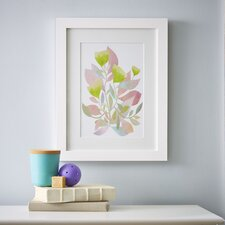 Watercolor Florals Framed Print III