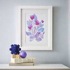 Watercolor Florals Framed Print II