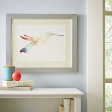 Watercolor Hummingbird Framed Print I
