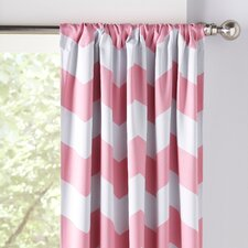 Zigzag Blackout Curtains (Set of 2)