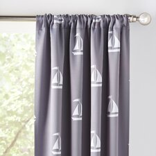 Sailboat Blackout Curtains (Set of 2)