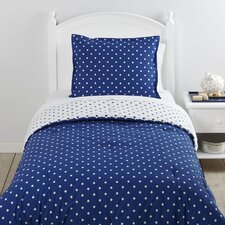 On the Dot Navy Bedding Set