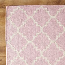 Pink & Ivory Area Rug