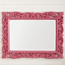 Lacquered and Lovely Mirror