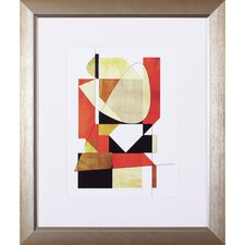 Shape Shifter 7a by Amy Lighthall Framed Graphic Art