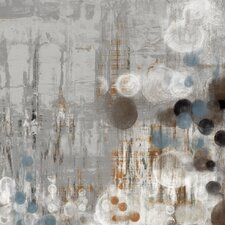 'Bubbly I' by Jennifer Goldberger Painting Print on Wrapped Canvas