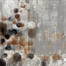 'Bubbly II' by Jennifer Goldberger Painting Print on Wrapped Canvas