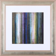 Striations II' by Wani Pasion Framed Painting Print