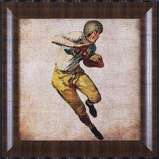 Vintage Sports III by John Butler Framed Graphic Art