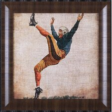 Vintage Sports V by John Butler Framed Graphic Art