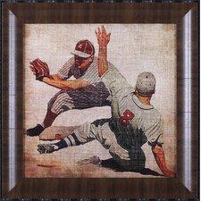 Vintage Sports VII by John Butler Framed Graphic Art