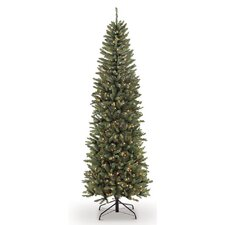 7.5' Green Fir Artificial Christmas Tree with 350 Clear Lights