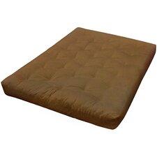 """9"""" Foam and Cotton Loveseat Size Futon Mattress"""