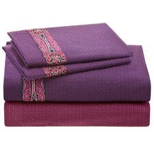 La Pagode 300 Thread Count Fitted Sheet