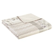 Wisteria Quilted Duvet Cover