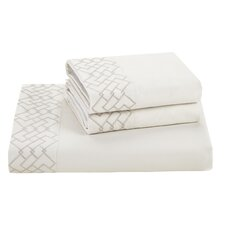 Wisteria 620 Thread Count 100% Cotton Fitted Sheet