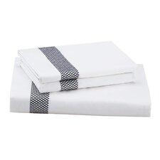 Origami Mum 400 Thread Count 100% Cotton Flat Sheet