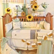 Bee My Baby 16 Piece Crib Bedding Set