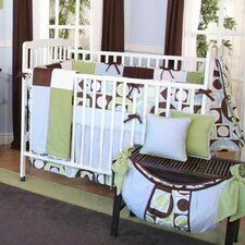 Modern Baby 4 Piece Crib Bedding Set