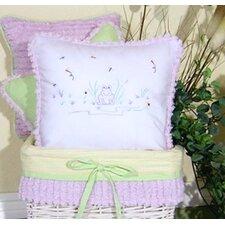 Froggy Decorator Throw Pillow