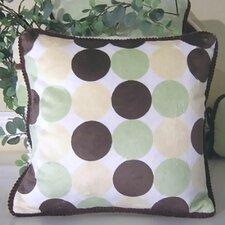 Minky Dot Throw Pillow