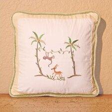 African Plains Monkey Decorator Throw Pillow