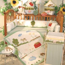 Appletree Farm 4 Piece Crib Bedding Set
