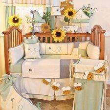 Bee My Baby 4 Piece Crib Bedding Set