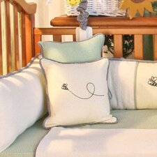 Bee My Baby Bee Decorator Throw Pillow