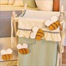 Bee My Baby Bee Garland Hanging Art