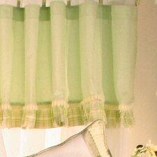 Ribbit Cotton Curtain Valance