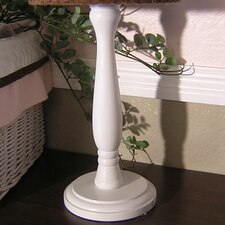 """Pink Chocolate 15"""" H Table Lamp Base"""