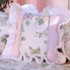 Flower Medley Print Throw Pillow
