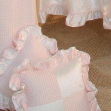 Princess Pink Patch Decorator Cotton Throw Pillow