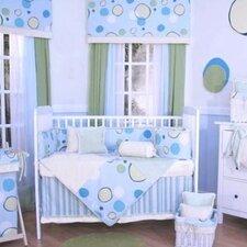 Minky Bubbles 4 Piece Crib Bedding Set