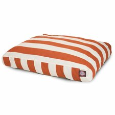 Vertical Stripe Pillow Dog Bed