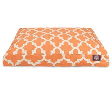 Trellis Rectangular Pet Bed