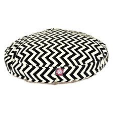 Zig Zag Round Pet Bed