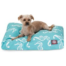 Sea Horse Rectangle Pet Bed