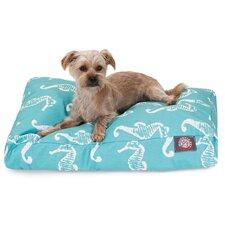 Sea Horse Rectangle Pet Bed