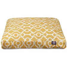 Athens Rectangle Pet Bed with Waterproof Denier Base